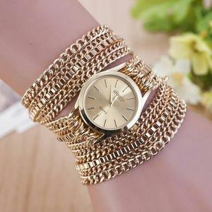 Gold Chain Fashion Watch